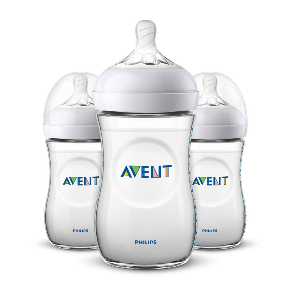AVENT 9OZ NATURAL2.0 BOTTLE X3