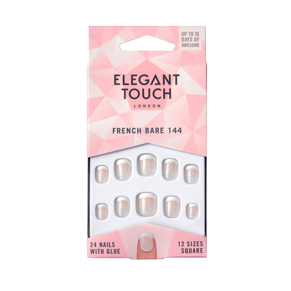 ET N FRENCH NAIL 144 P XS BARE