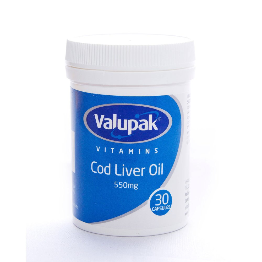 COD LIVER OIL HIGH STRENGTH CAPS 550MG