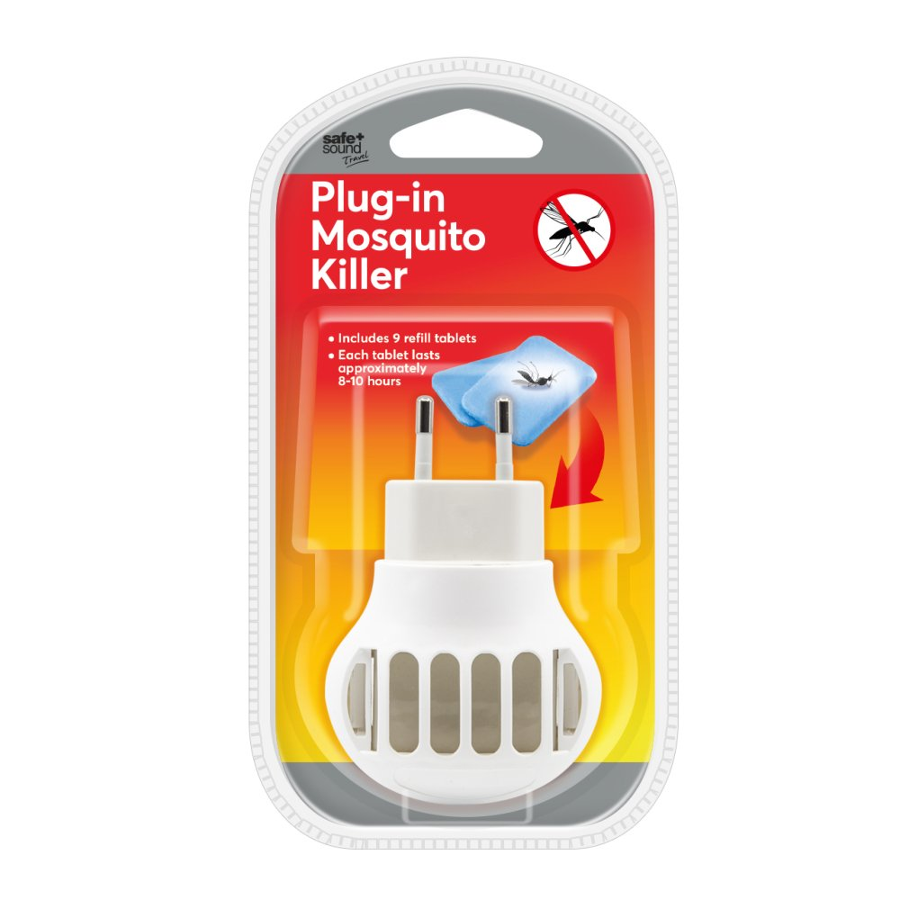 MOSQUITO PLUG WITH REFILLS