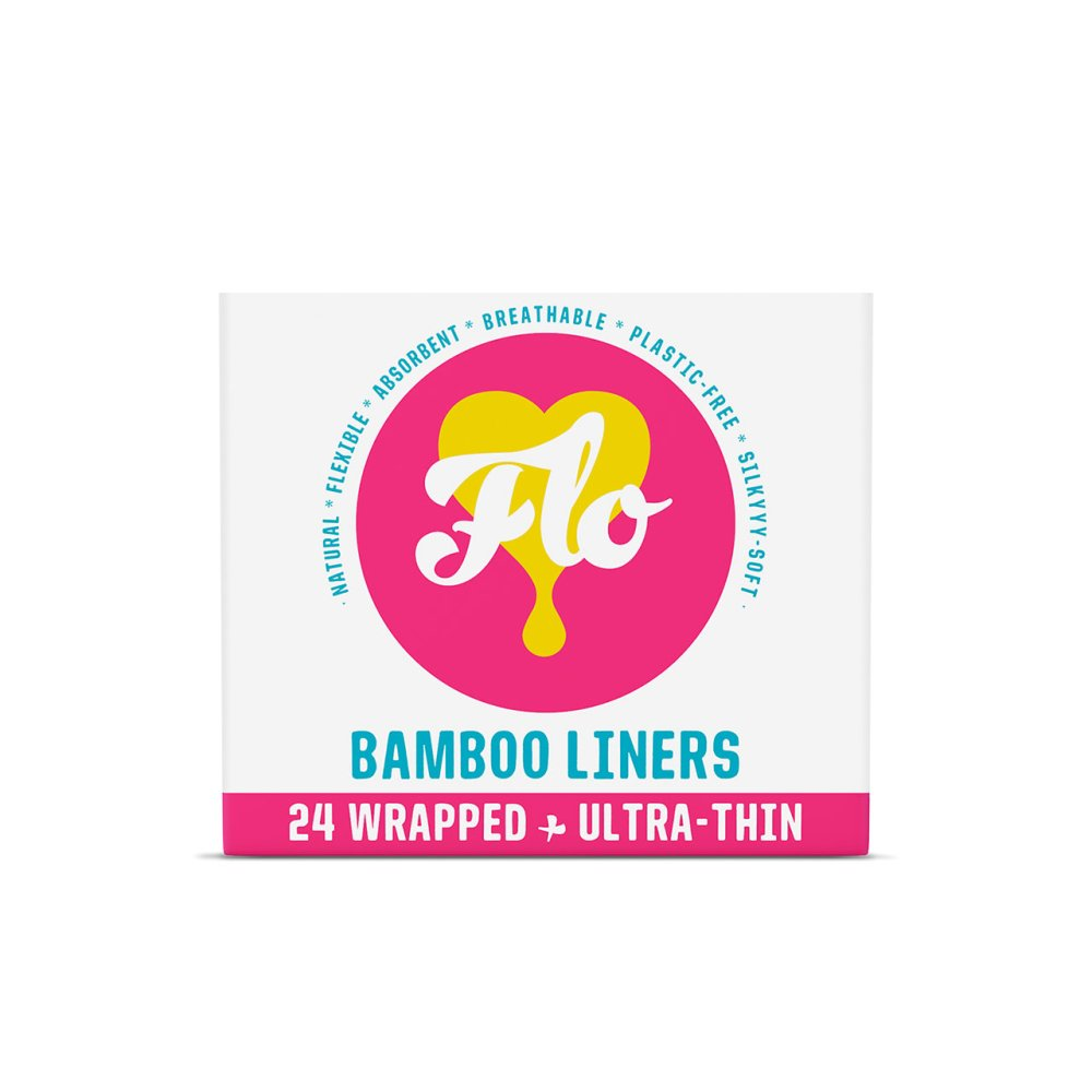 FLO ORGANIC BAMBOO LINERS