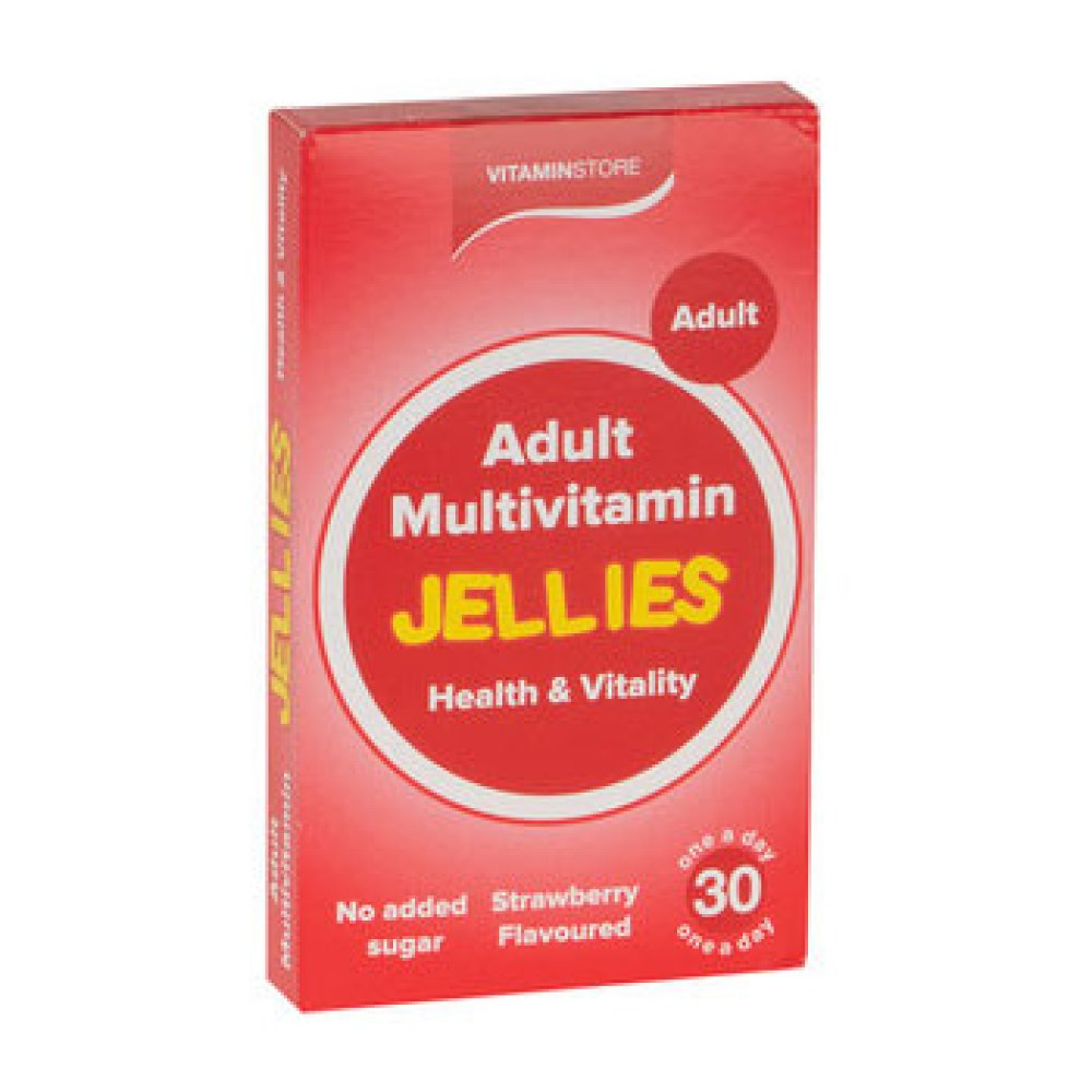 ADULT JELLY MULTIVITAMINS 30S