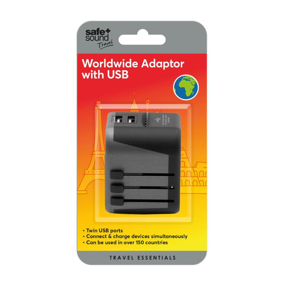 WORLDWIDE USB CHARGER