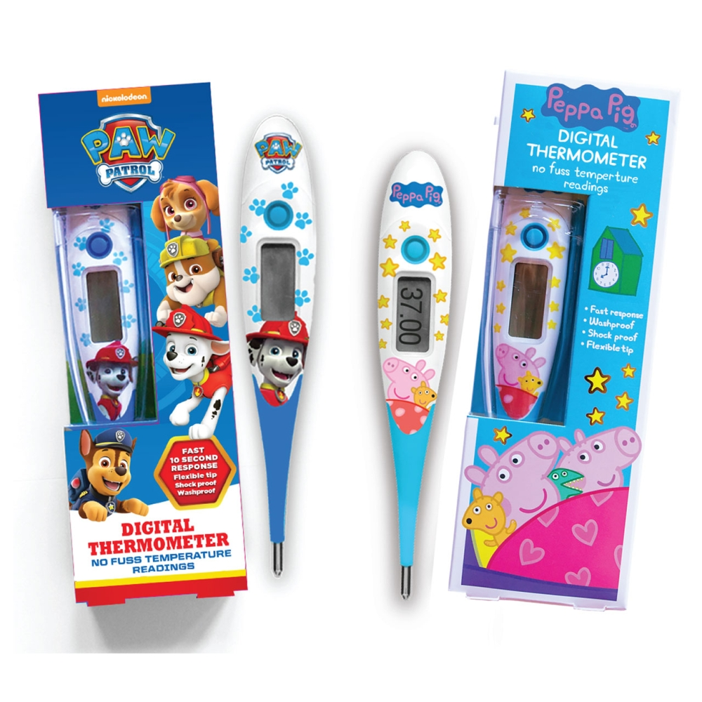 PAW AND PEPPA DIGITAL THERMOMETER