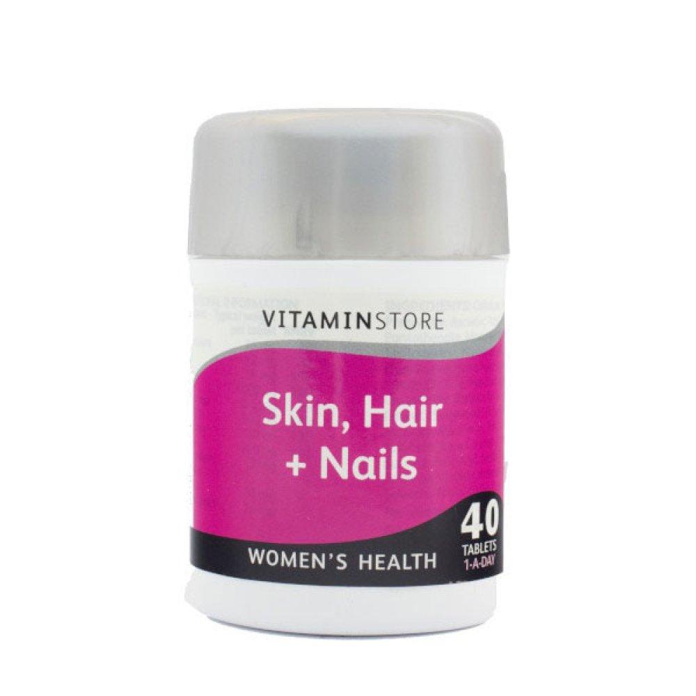 SKIN HAIR & NAILS TABLETS 40S