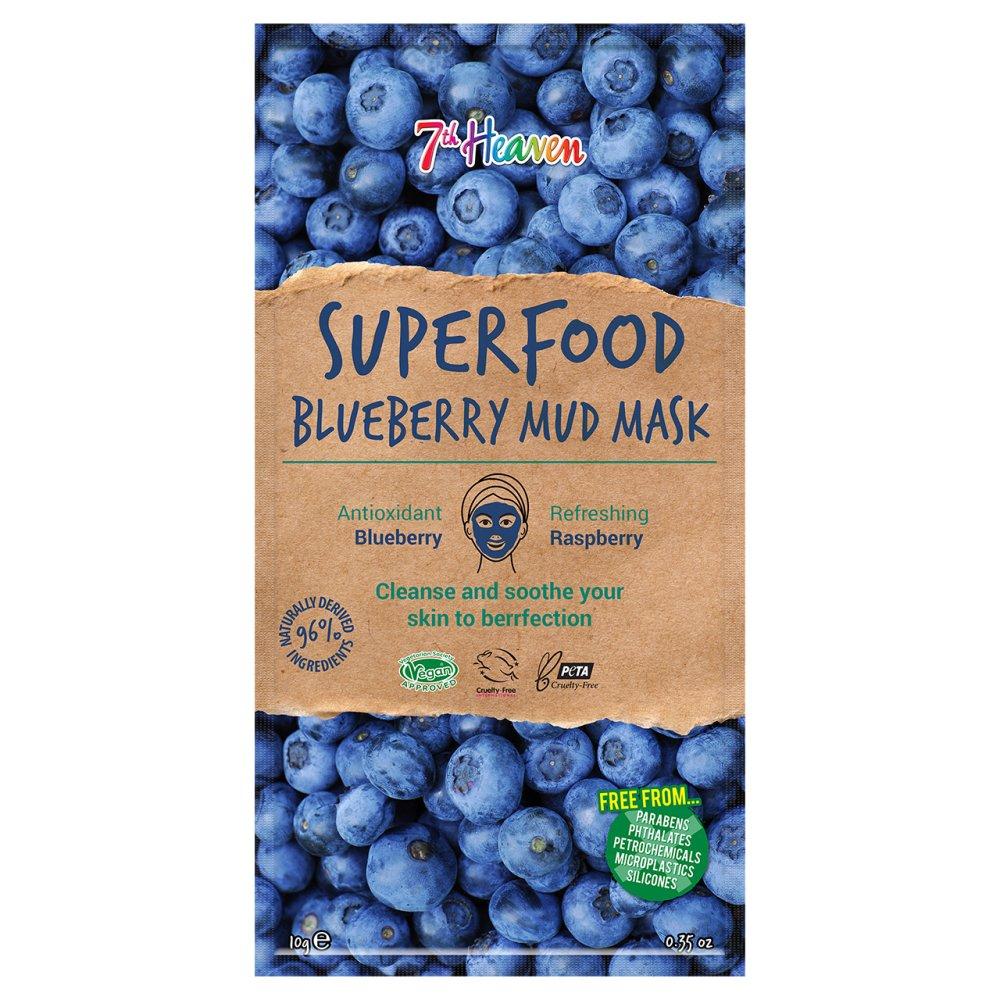 SUPERFOOD BLUEBERRY MUD MASK