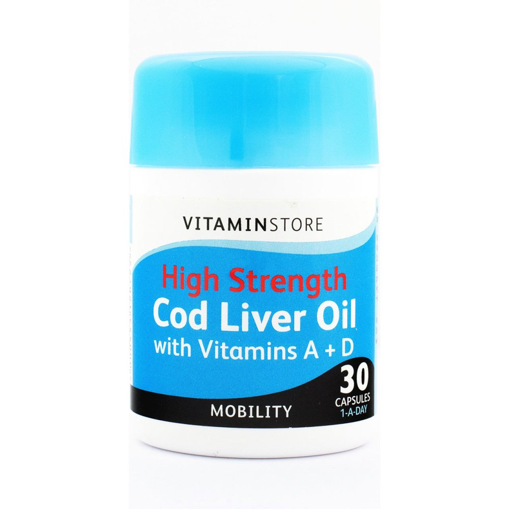 HS COD LIVER 1000MG CAPSULES 30S