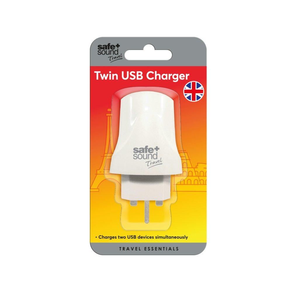UK DUAL USB CHARGER