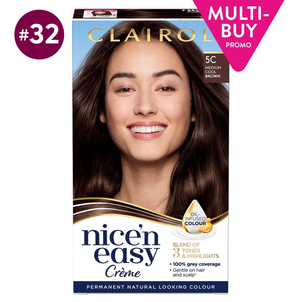 NICE N EASY MEDIUM COOL BROWN 5C