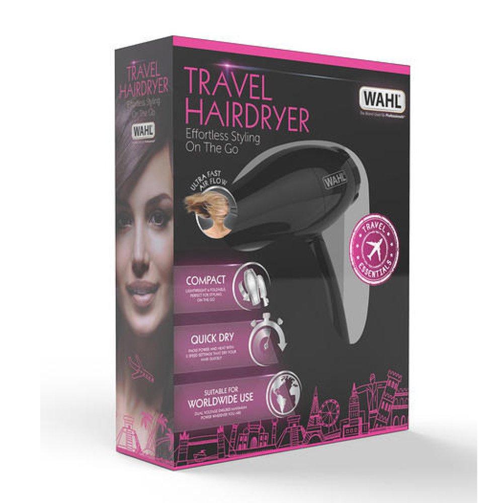 TRAVEL HAIR DRYER - BLACK