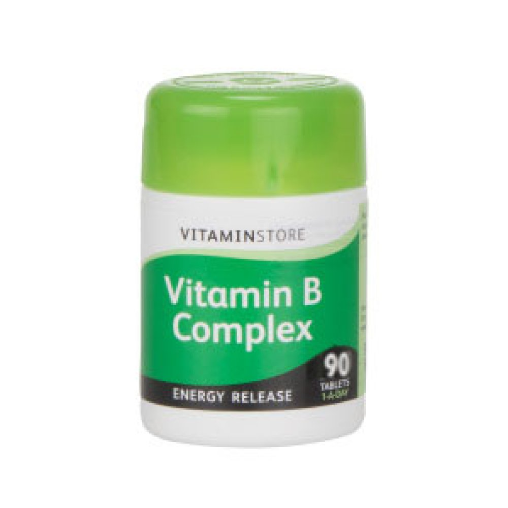 B COMPLEX TABLETS 90S