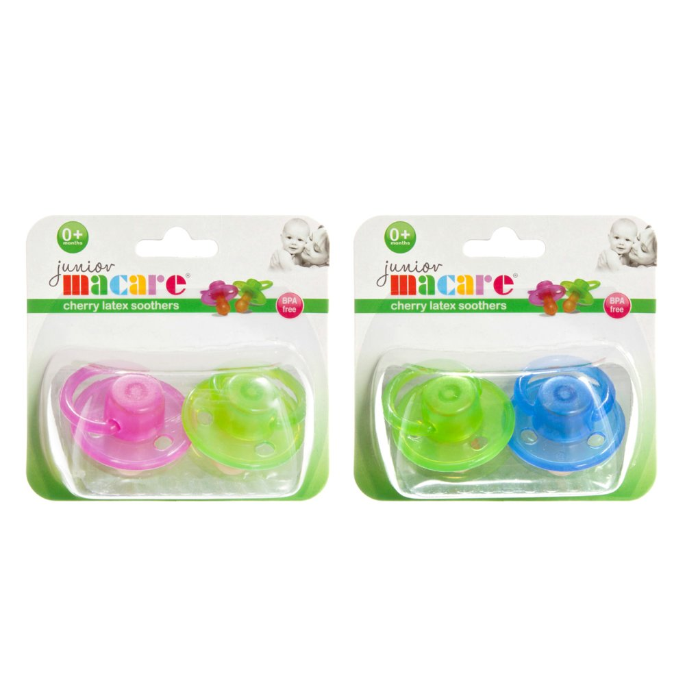 SILICONE SOOTHERS 2 PC