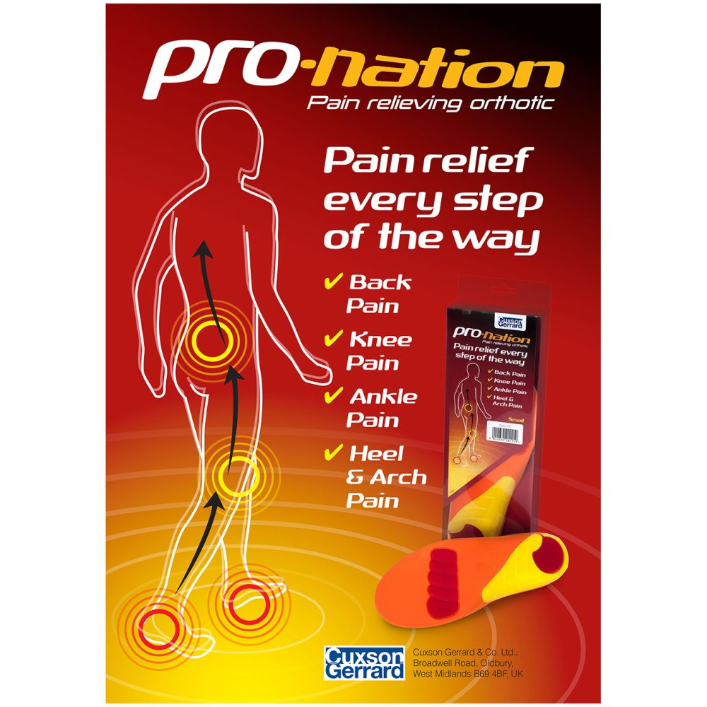 PRONATION IN-STORE POSTER