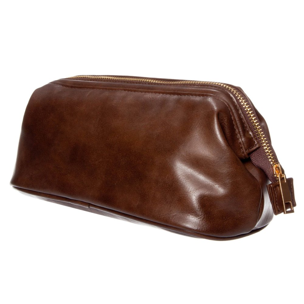 MONZA CLASSIC WASHBAG BROWN