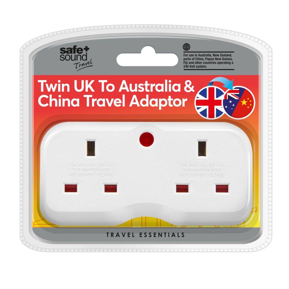 TWIN ASIA/AUS ADAPTOR NEW BS