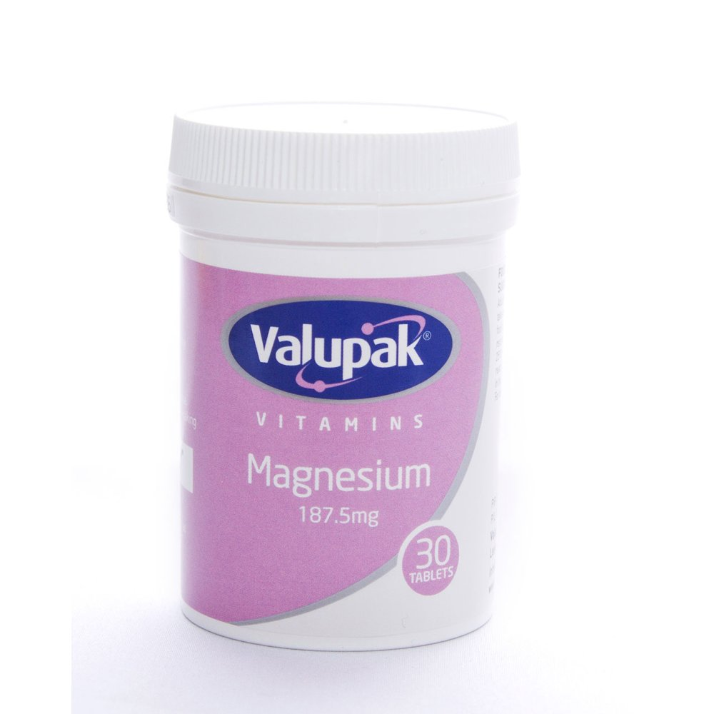 MAGNESIUM TABLETS 187.5MG