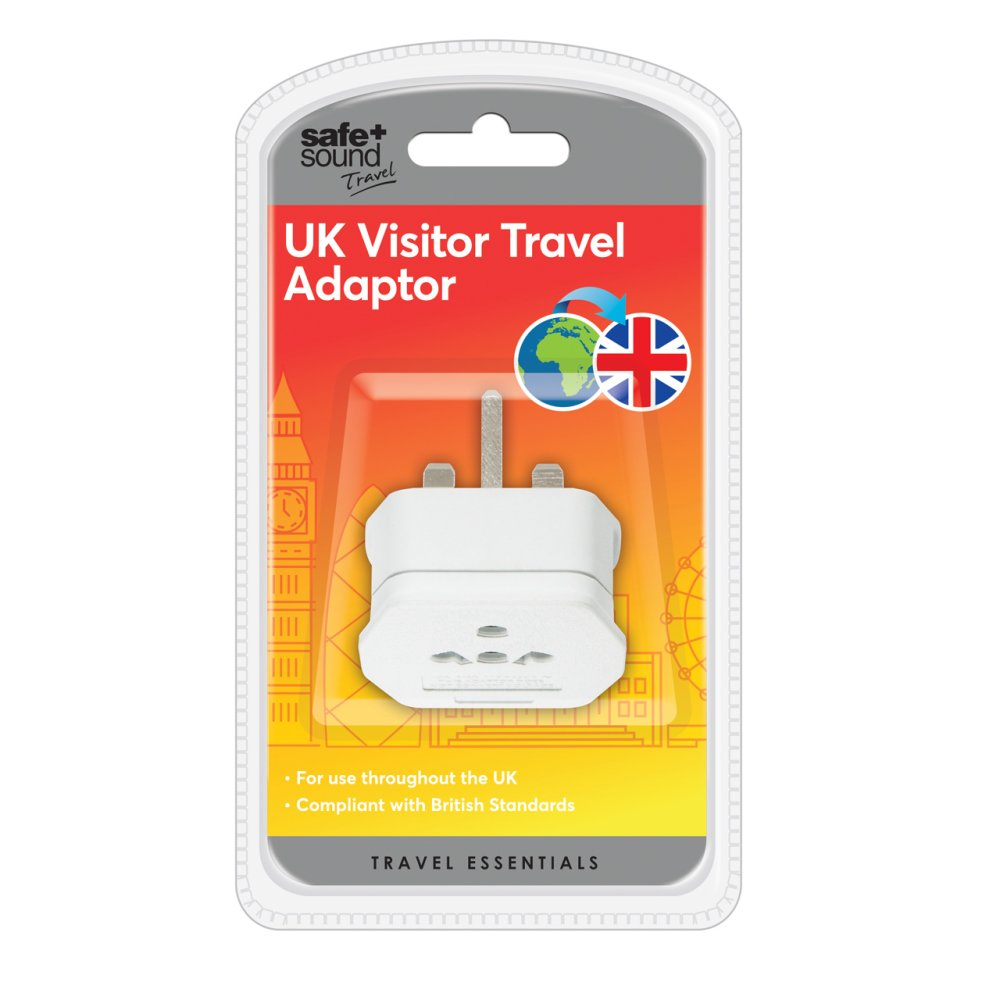 UK VISITOR TRAVEL ADAPTOR