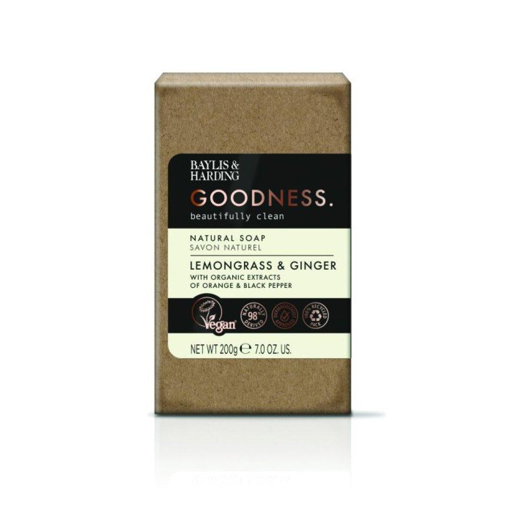 GOODNESS LEMONGRASS & GINGER BAR SOAP