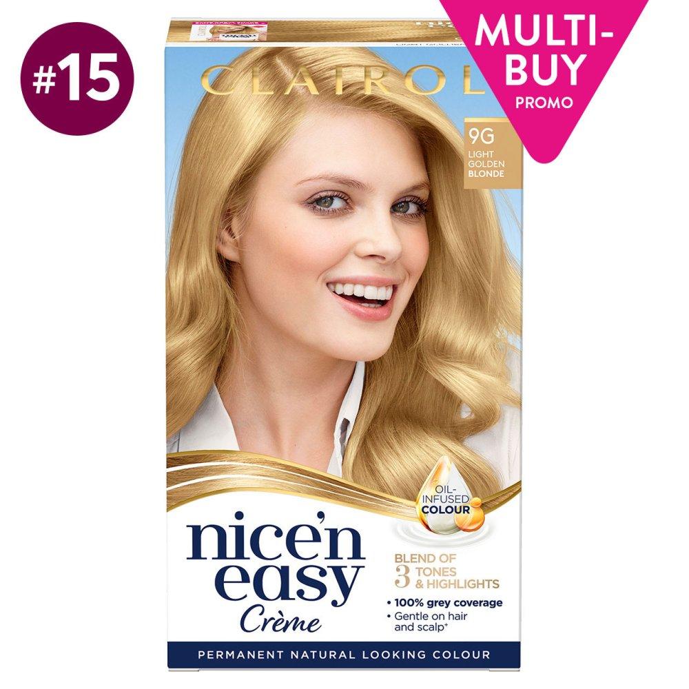 NICE N EASY LIGHT GOLDEN BLONDE 9G