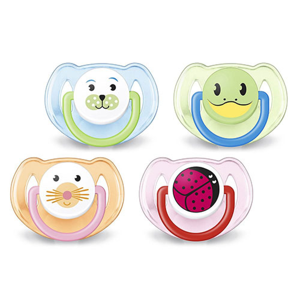 AVENT SILICONE SOOTHER 6-18M