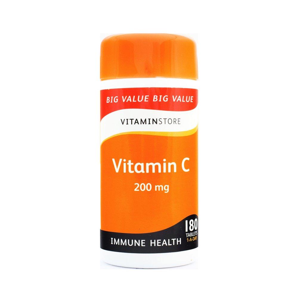 VITAMIN C 200MG 180S