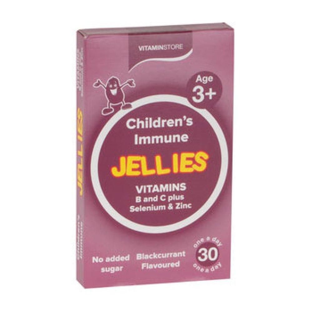 CHILDREN'S JELLY IMMUNE BLACKCURRANT 30S