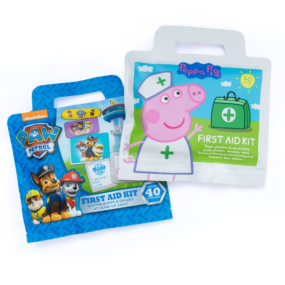 PAW PATROL AND PEPPA FIRST AID KIT