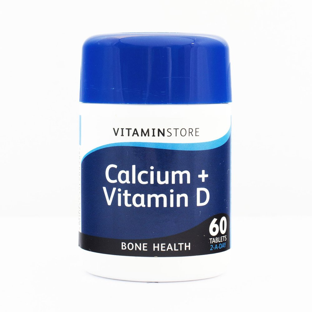 CALCIUM AND D 400MG TABLETS 60S