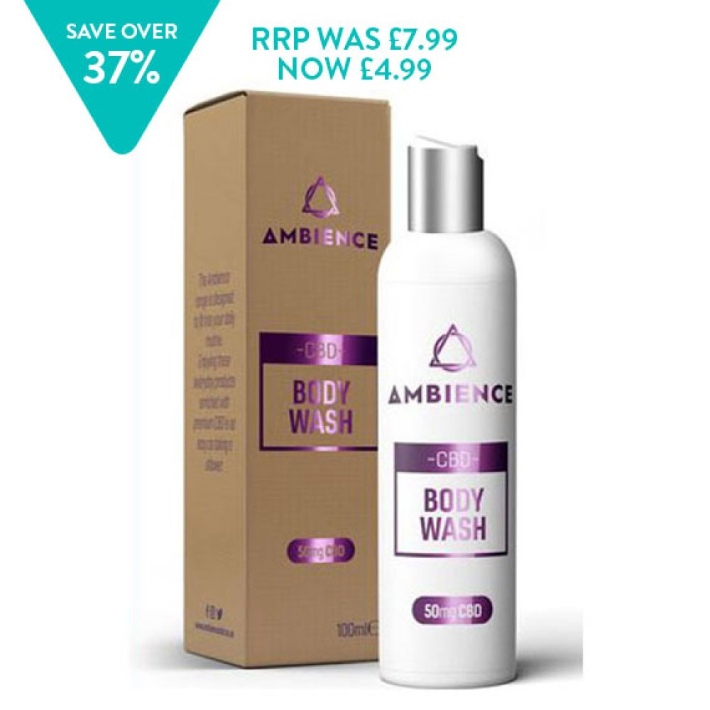 AMBIENCE CBD 50MG BODY WASH