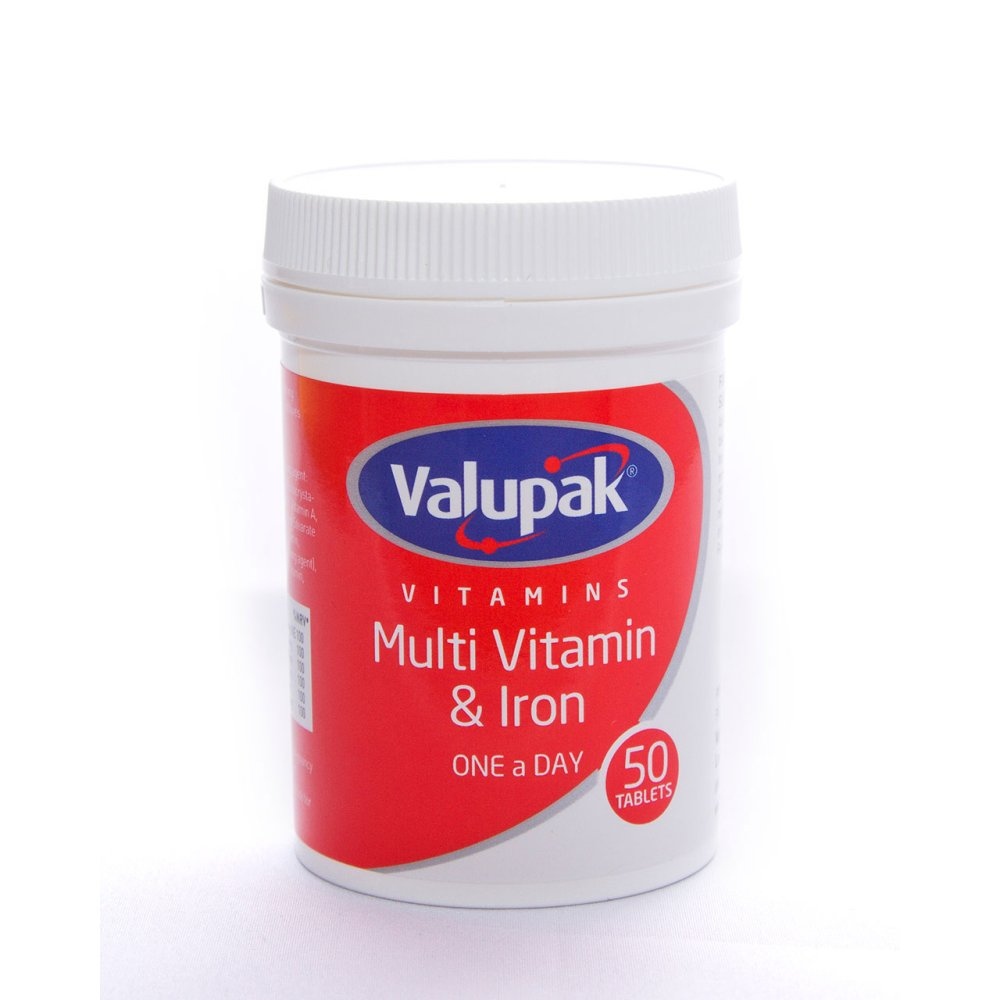 MULTI VITAMIN AND IRON TABLETS OAD