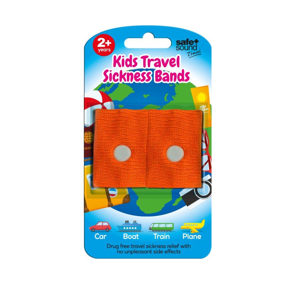KIDS MOTION SICKNESS TRAVEL BANDS