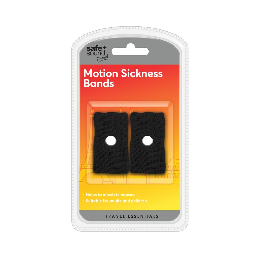 MOTION SICKNESS TRAVEL BANDS