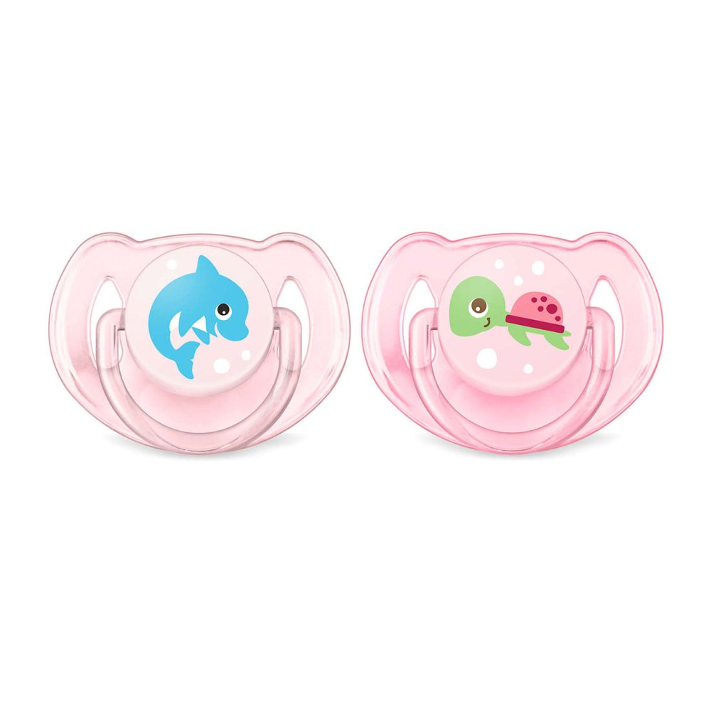 AVENT SOOTHER 6-18M X2 GIRL