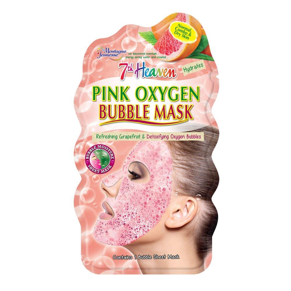 PINK OXYGEN BUBBLE MASK