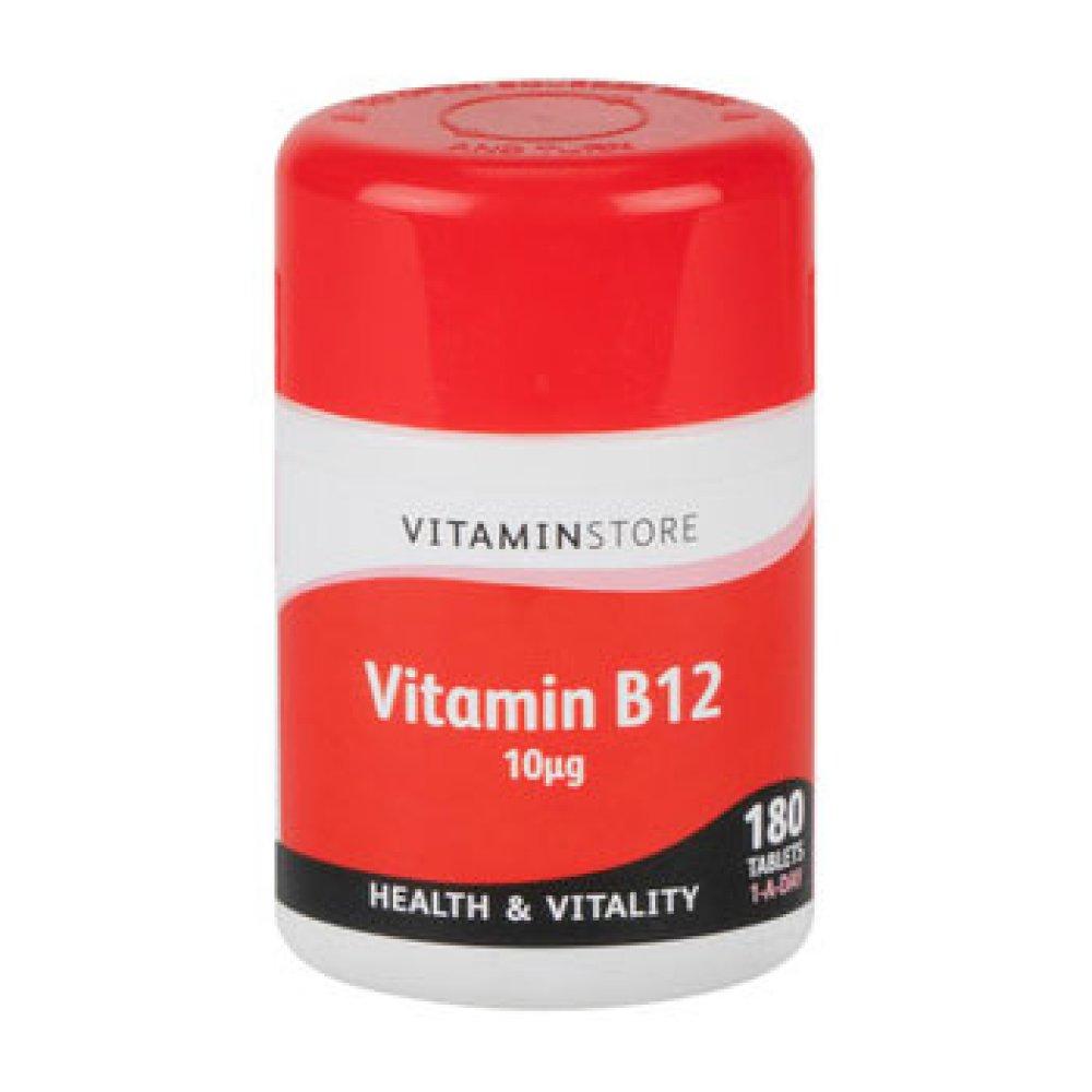 VITAMIN B 12 10UG TABLETS 180S