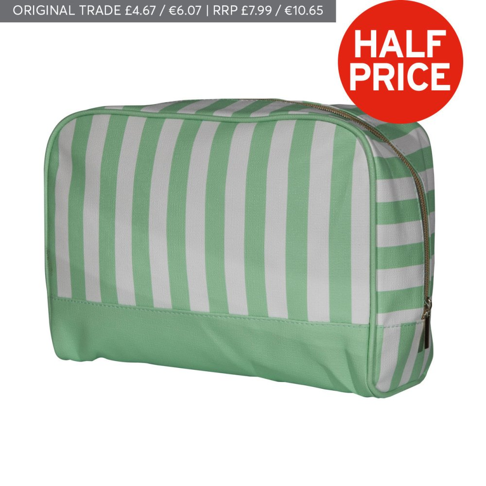 PORTOFINO LARGE COSMETIC BAG MINT