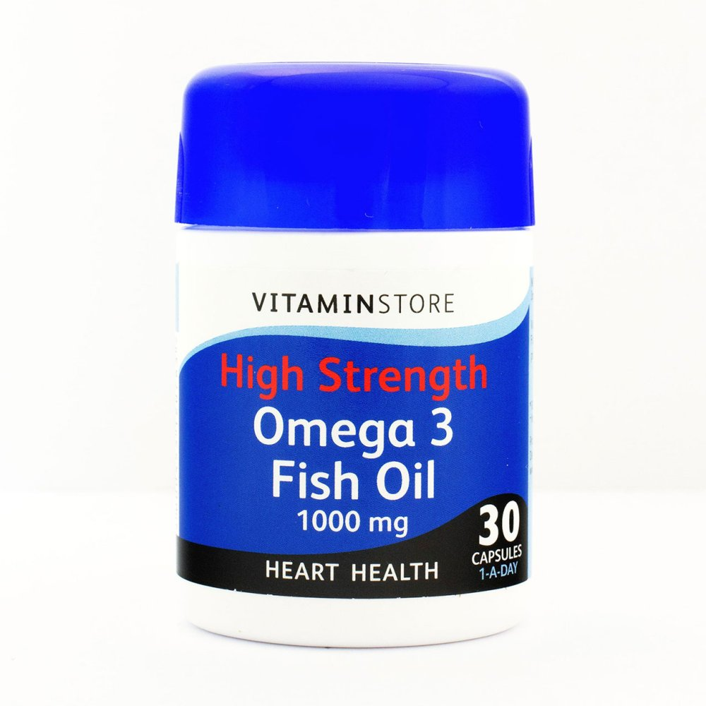 HS OMEGA 3 1000MG CAPSULES 30S