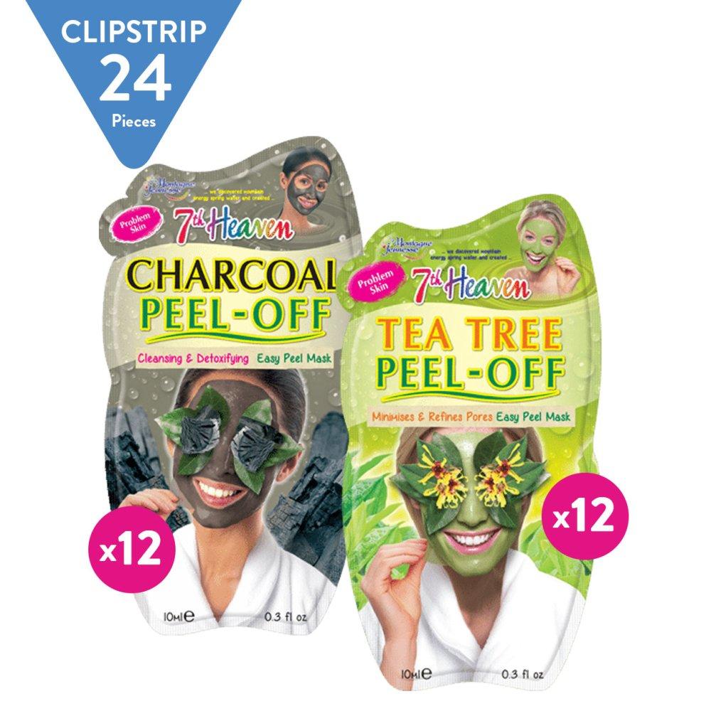 TEA TREE PEEL OFF AND CHARCOAL PEEL OFF CSTRIP