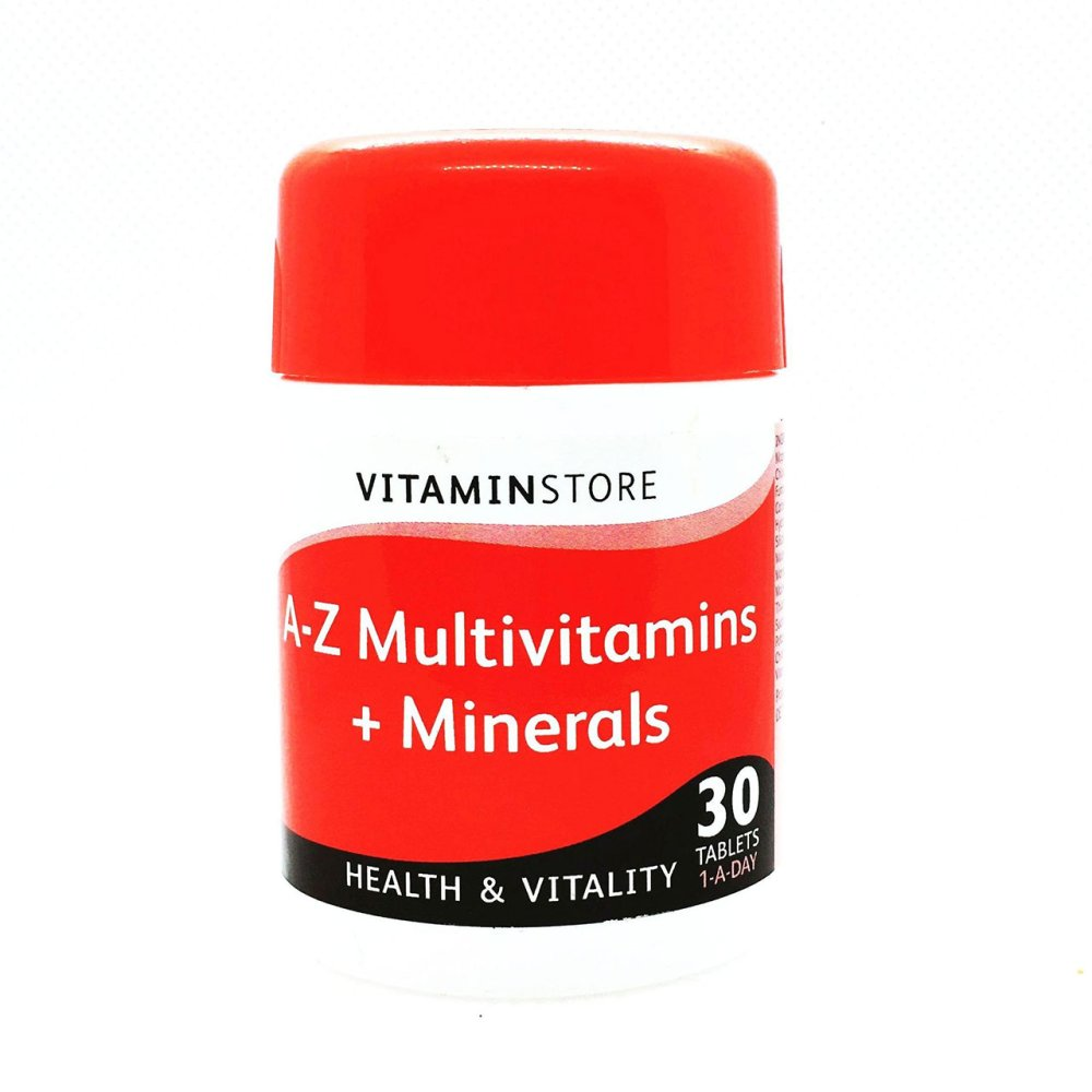 A-Z MULTIVITAMIN + MINERALS TABLETS 30S