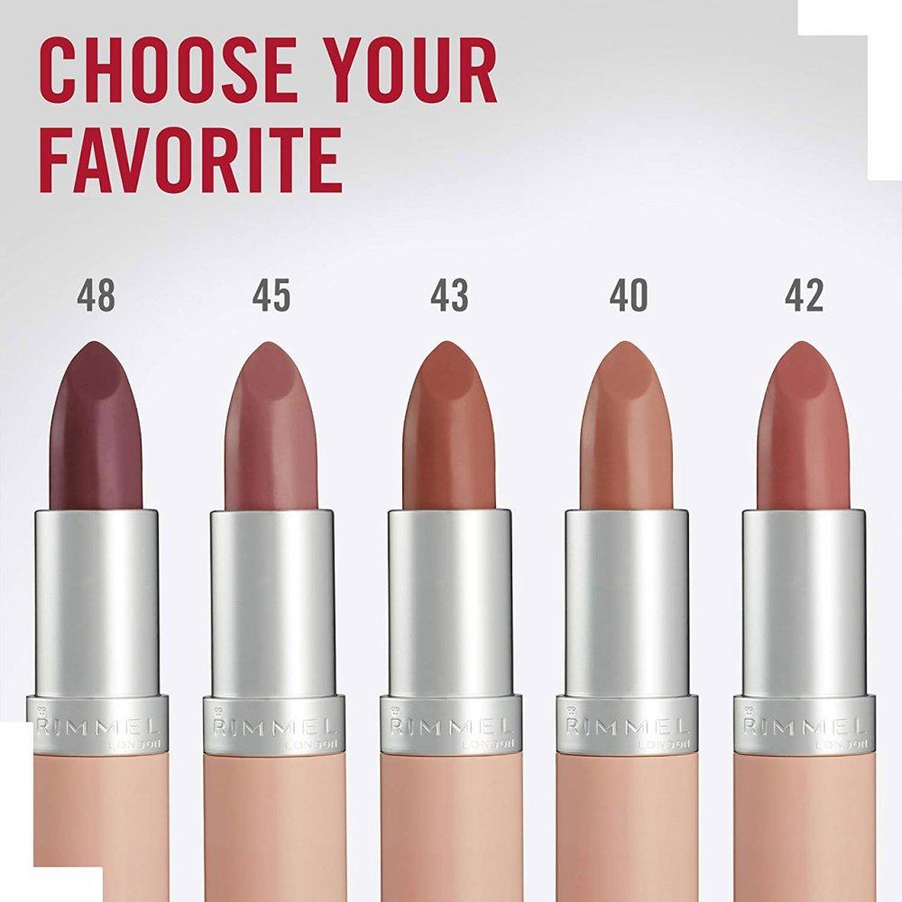 Rimmel London Lasting Finish Lipsticks By Kate - Nude