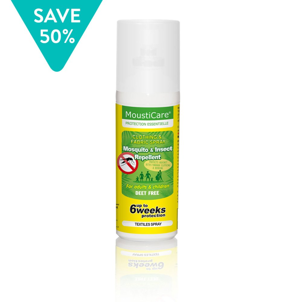 MOSQUITO & INSECT REPELLENT FOR FABRICS 75ml