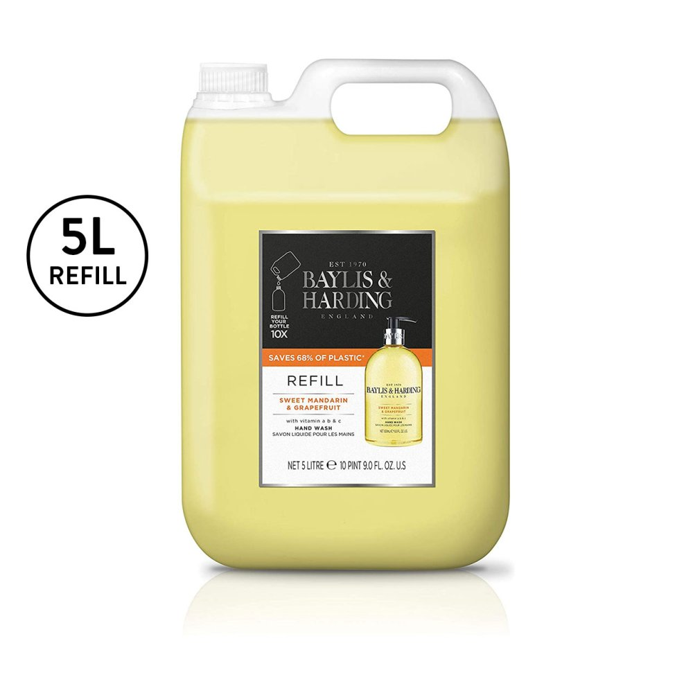 MANDARIN AND GRAPEFRUIT 5 LITRE HAND WASH