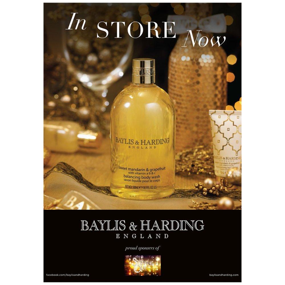 BAYLIS & HARDING CORE POSTER