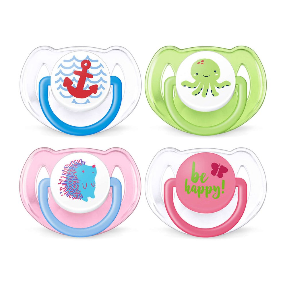 AVENT SOOTHER 6-18M X2 MIXED